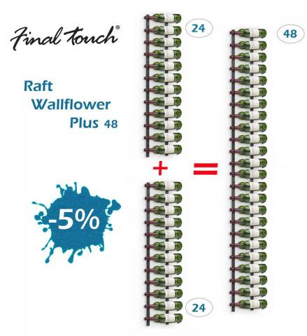 Raft Wallflower Plus 48