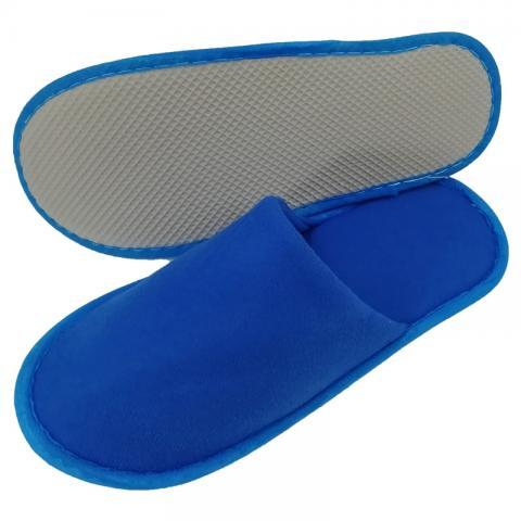 Set 25 perechi papuci albastri hotel