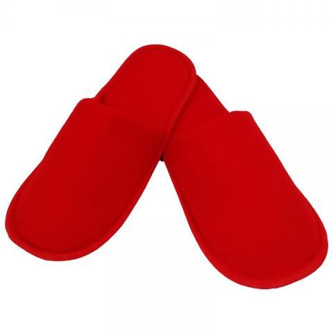 Set 25 perechi papuci rosii de unica folosinta