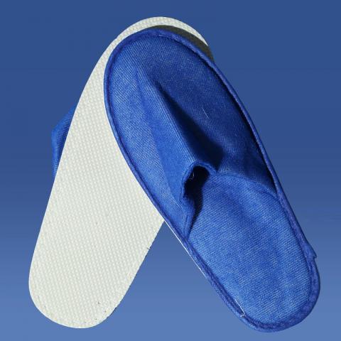 Papuci culoare albastra