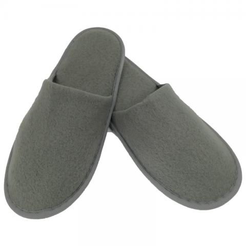 Papuci culoare gri