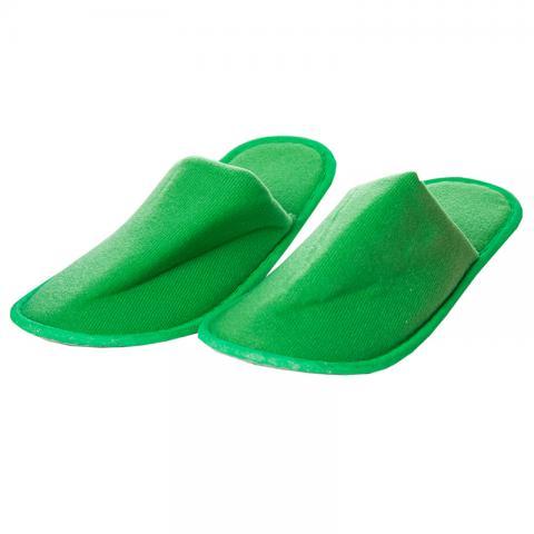 Papuci culoare verde