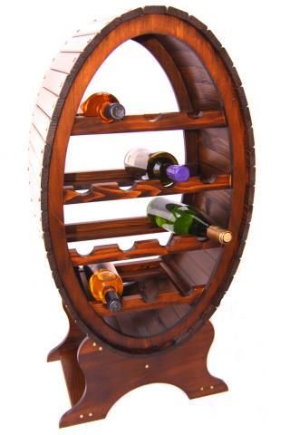 Raft lemn 14 sticle